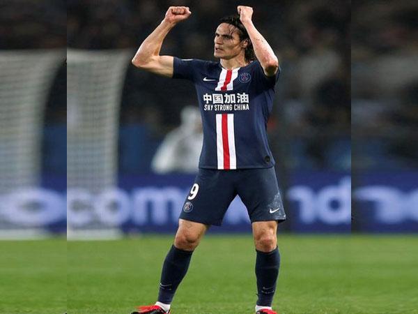 PSG striker Edinson Cavani.