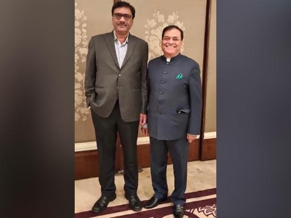 CMA Vice President Neeraj Akhoury & CMA President Mahendra Singhi