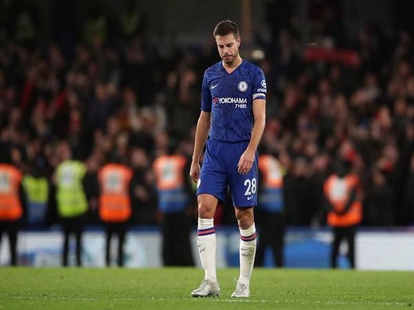 Chelsea's Cesar Azpilicueta.