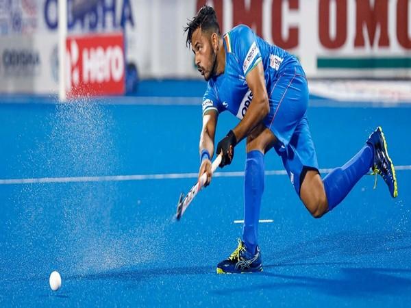 Harmanpreet Singh (Photo/ Hockey India website)