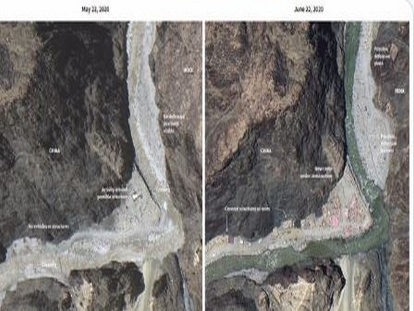 Satellite images of India-China border shared by Congress leader P Chidambaram