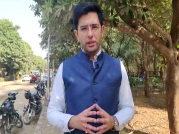 Aam Aadmi Party (AAP) MLA Raghav Chadha