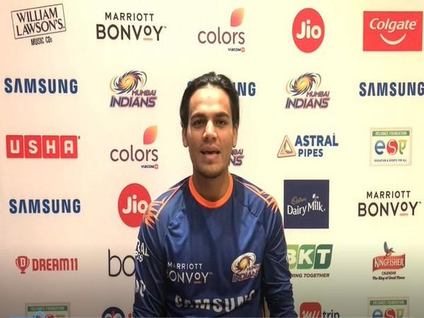 Mumbai Indians' spinner Rahul Chahar