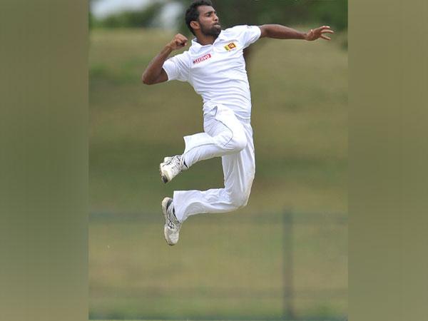 Pacer Chamika Karunaratne (Photo/ Sri Lanka Cricket Twitter)