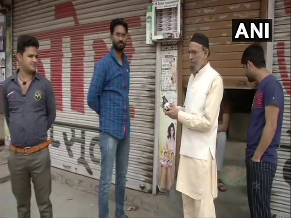 Locals in Delhi's Chand Bagh area