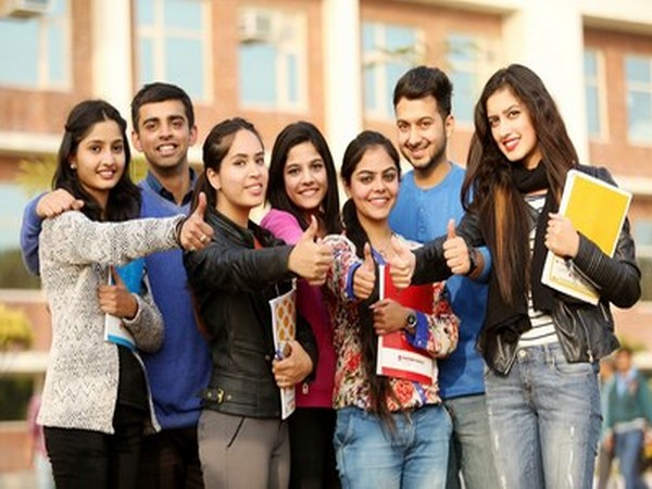 Placed students of Chandigarh University in a jubilant mood after getting an offer from company