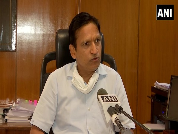 Yashpal Garg, CEO, Housing Board and Chairman of Help Desk speaking to ANI on Wednesday. (Photo/ANI)