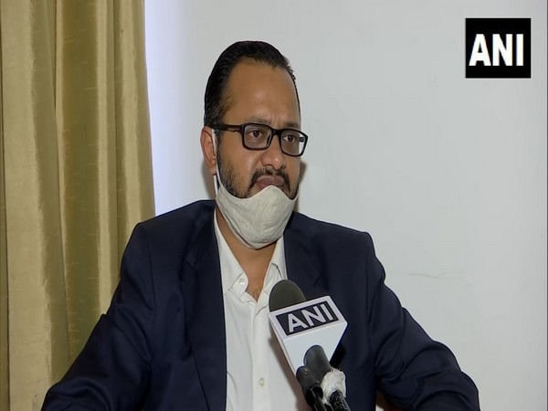 Chandigarh Hospitality Association President Ankit Gupta speaking to ANI on Wednesday. (Photo/ANI)