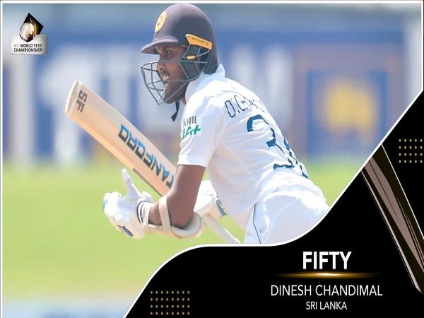 Sri Lanka skipper Dinesh Chandimal (Photo/ ICC Twitter)