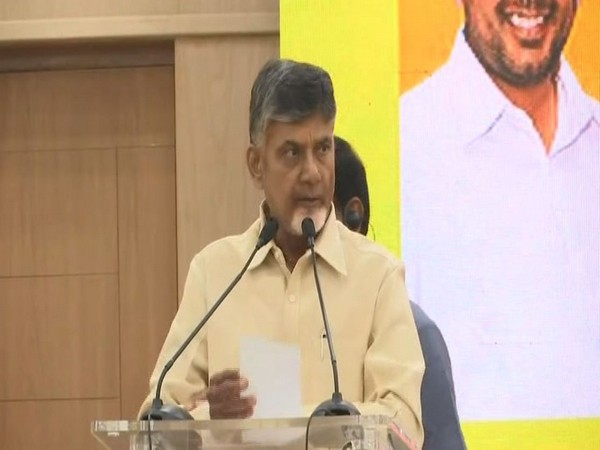 Telugu Desam Partychief Chief Minister N Chandrababu Naidu [File Photo/ANI]