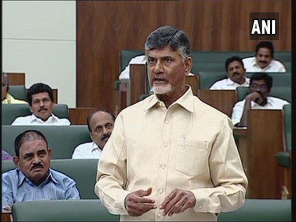 Andhra Pradesh Minister N Chandrababu Naidu