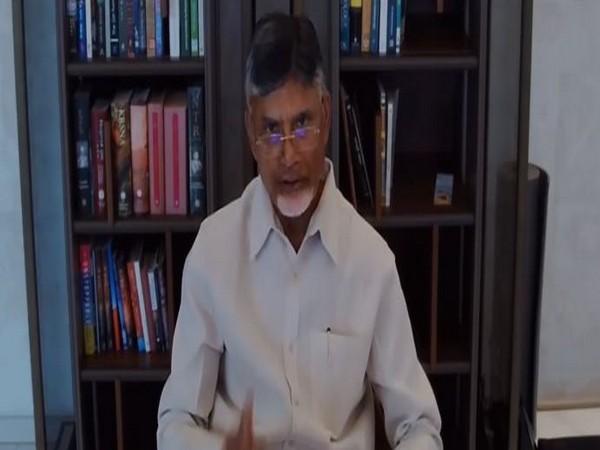Former Andhra Pradesh Chief Minister N Chandrababu Naidu. [File image]