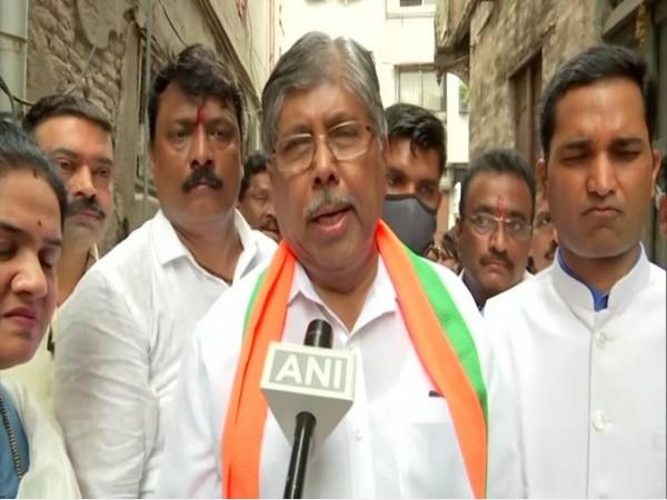 Maharashtra BJP chief Chandrakant Patil (Photo/ANI)