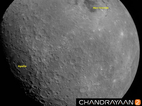 Chandrayaan-2 captures first image of Moon (Picture Credits: ISRO Twitter)