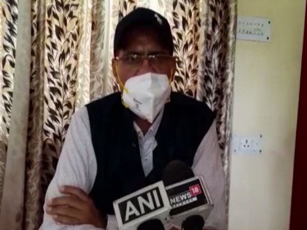 Surendra Nath Pandey, District Magistrate, Champawat. Photo/ANI