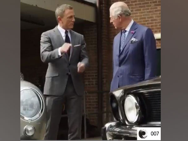 Daniel Craig and Prince Charles