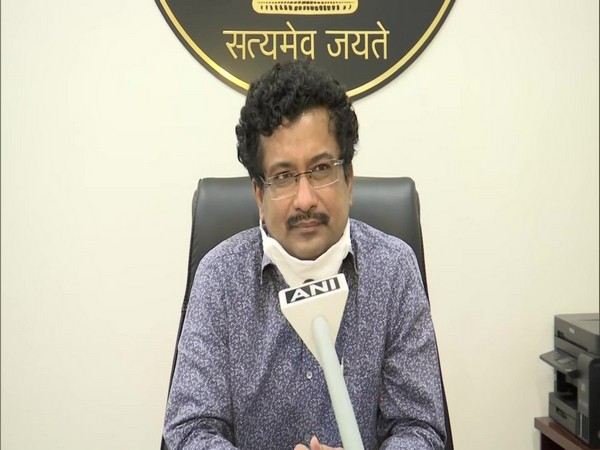 Sonmani Borah speaking to ANI on Friday in Raipur.