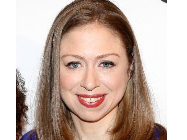 Former first daughter Chelsea Clinton (file photo)