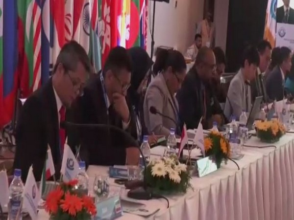 Visual from the 29th World Customs Organisation (WCO) Asia Pacific Regional Contact Points (RCP) meeting on Monday. Photo/ANI