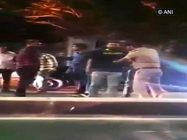 Video footage of Chennai incident