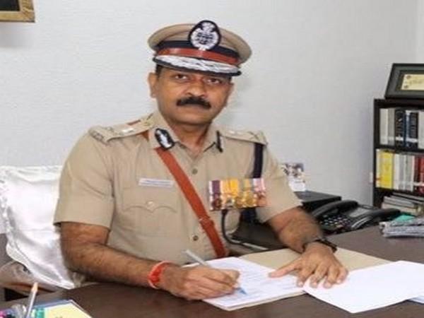 Chennai Police commissioner Mahesh Agarwal. Photo/Twitter/Police Commissioner