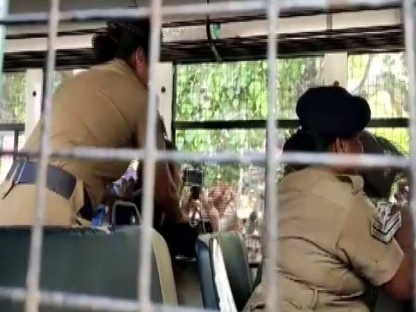 Police detained six Tibetan activists from outside Chennai airport on Friday. Photo/ANI