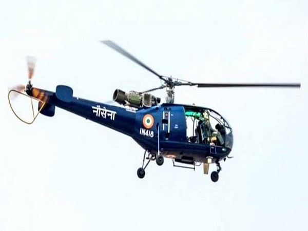 Chetak helicopter of the Indian Navy
