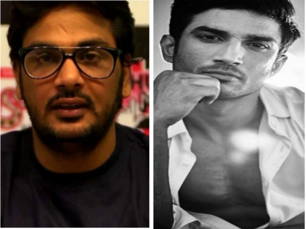 Director Mukesh Chhabra and late actor Sushant Singh Rajput (Image source: Instagram)
