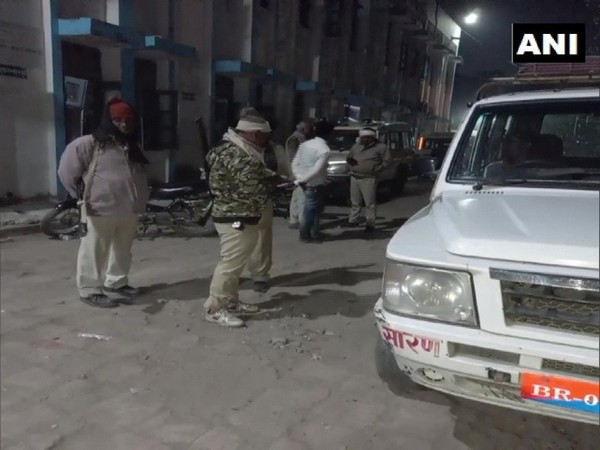 Three persons were shot dead and one critically injured in Bihar's Chapra (Photo ANI)