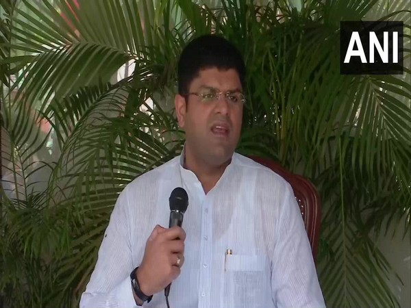Haryana Deputy Chief Minister Dushyant Chautala. (Photo/ ANI)