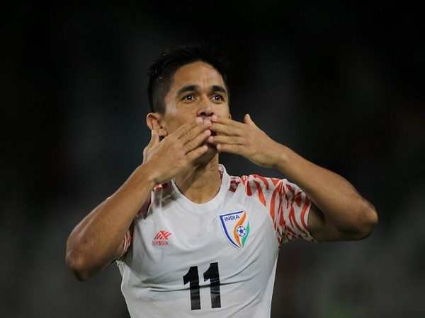 Indian footballer Sunil Chhetri