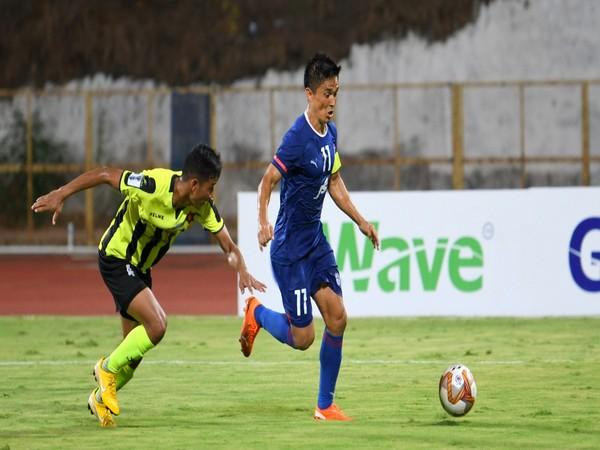 Bengaluru FC skipper Sunil Chhetri (Photo/ Indian Football Team Twitter)