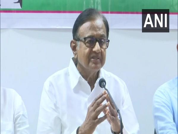 Congress leader P Chidambaram. (Photo/ ANI)