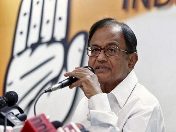 Former Finance Minister P Chidambaram (File photo/ANI)