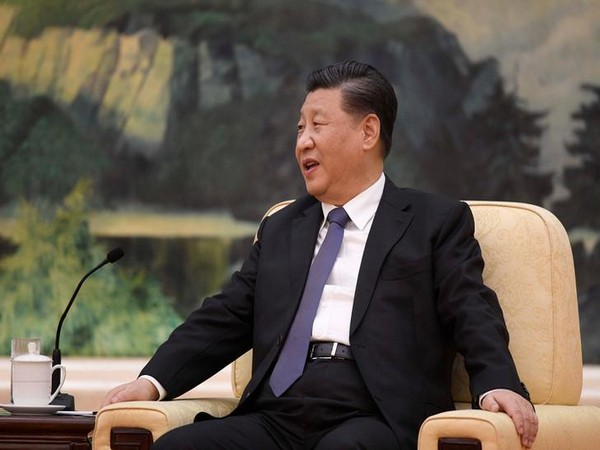 Chinese President Xi jinping speaks during a meeting with Tedros Adhanom, director general of the WHO in Beijing last month