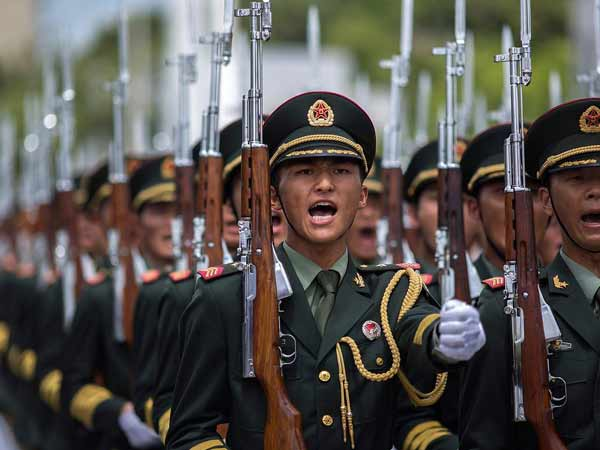 Soldiers of China's People's Liberation Army (PLA) (File photo)