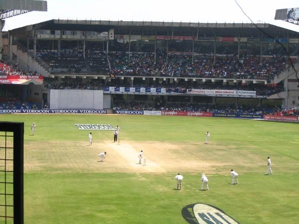 Chinnaswamy Cricket Stadium in Karnataka. [File Photo]