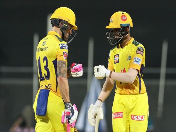 CSK batters Faf du Plessis and Ruturaj Gaikwad (Photo/ IPL Twitter)