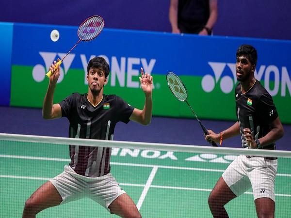 Chirag Shetty and Satwiksairaj Rankireddy (Photo/ BAI Media Twitter)