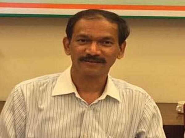 Goa Pradesh Congress Committee (GPCC) president Girish Chodankar (File photo/ANI)
