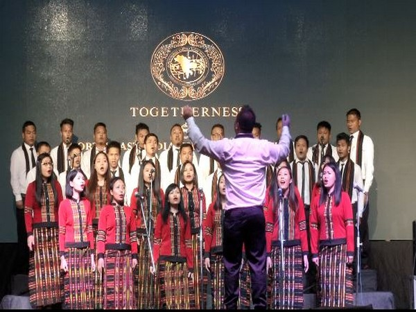 8th North East choral competition held in New Delhi