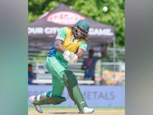 Vancouver Knights' Chris Gayle (Photo/ GT20 Canada Twitter)
