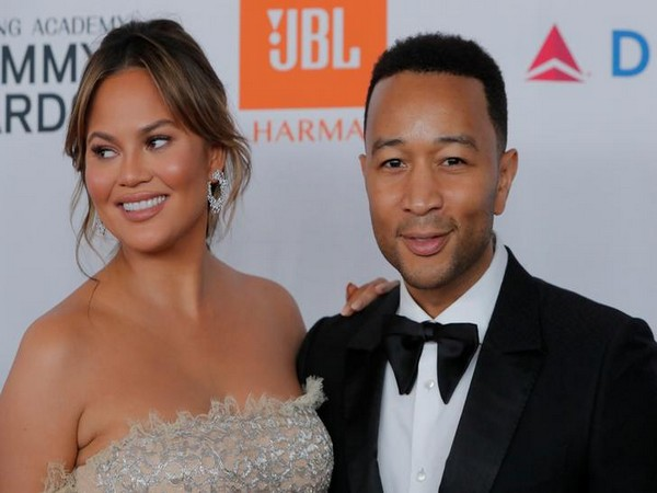 Chrissy Teigen and John Legend attends the 2018 pre-grammy gala and grammy salute to Industry Icons