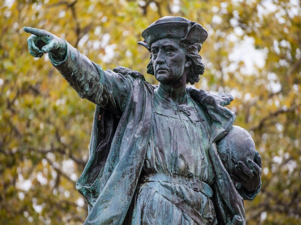 Statue of Christopher Columbus (File pic)