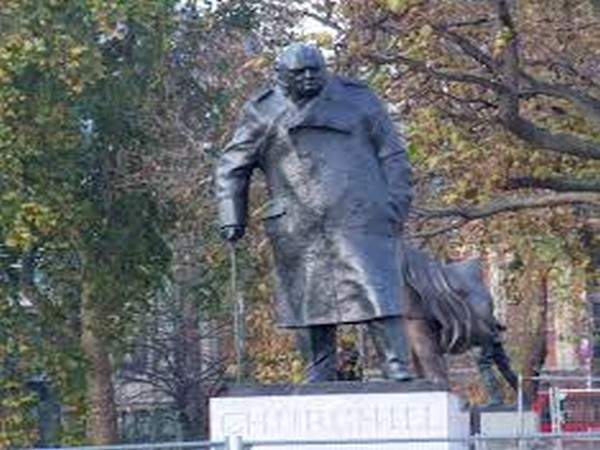 Memorial to Winston Churchill in Westminster (File pic)