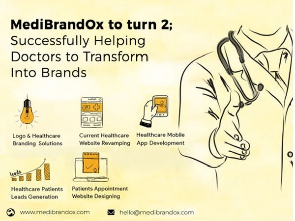 MediBrandOx to turn 2; successfully helping doctors to transform into brands