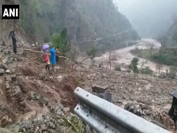 A cloudburst left one person dead in Uttarakhand on Sunday.