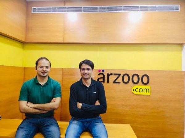 Co-founders of Arzooo.com Rishi Raj and Khushnud Khan