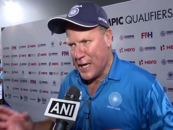 Indian men's hockey team coach Graham Reid
