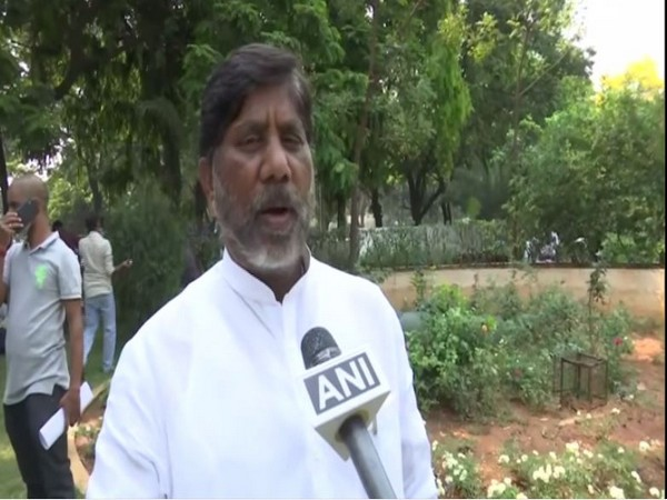 Congress leader Batti Vikramarka speaking to ANI in Hyderabad. (File Photo)